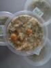 Cará, Cenoura, Couve, Carne e Temperos Verdes Naturais